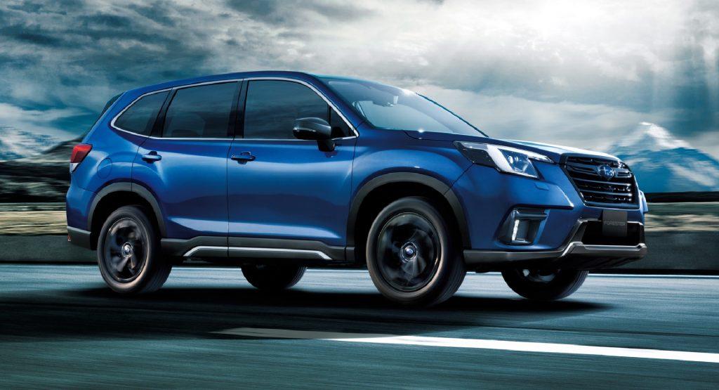 Subaru Forester thế hệ mới được cho là sẽ ra mắt vào năm 2023?