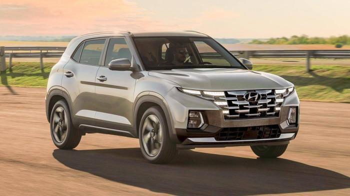 """Xem trước Hyundai Creta 2022 với ngoại hình lấy cảm hứng từ """"đàn anh"""" Hyundai Tucson"""