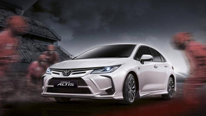 Toyota Corolla Altis với gói độ bodykit Nurburgring đầy năng động, thể thao