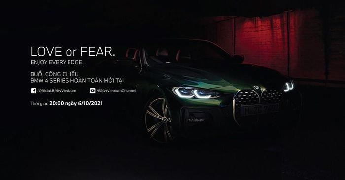 BMW Việt Nam xác nhận thời gian ra mắt BMW 4 Series hoàn toàn mới