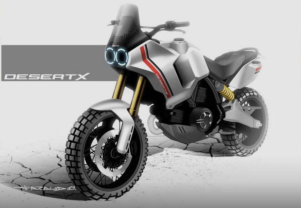 Lo tin Ducati Desert X se xuat hien trong buoi ra mat xe moi 2022 cua Ducati - 4