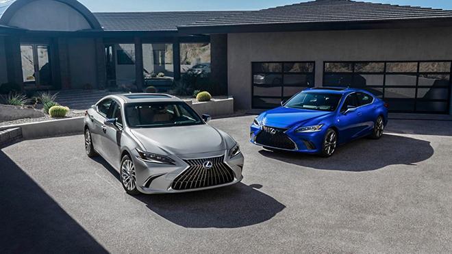 Lexus ES 2022 công bố giá bán tại Mỹ, có tùy chọn màu ngoại thất mới